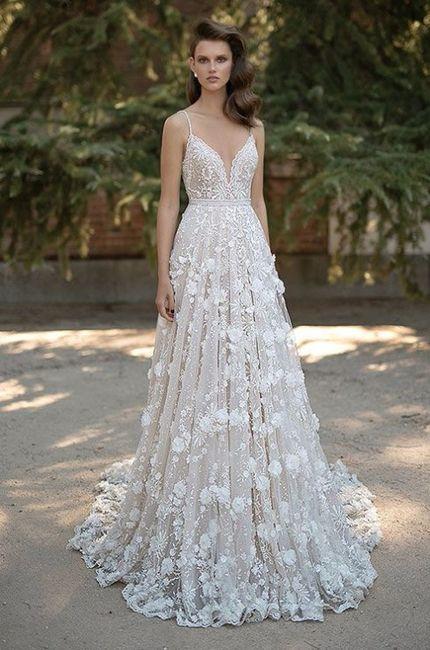Vestidos largos de novia civil