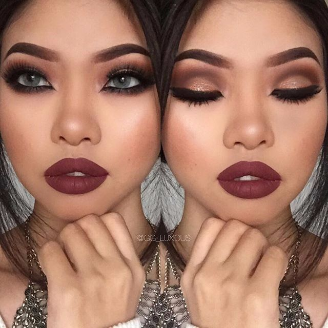 Maquillaje Con Labial Obscuro Foro Belleza Bodascommx