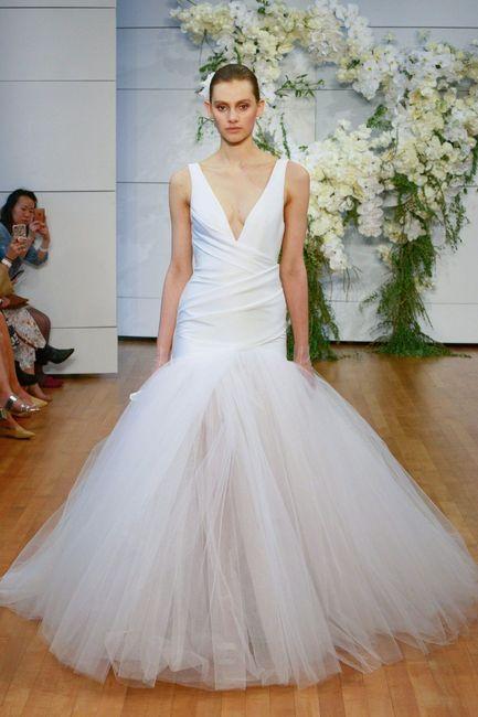 Monique Lhuillier: vestido de novias primavera 2018 - Foro Moda ...