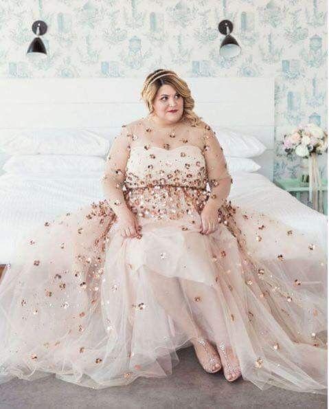 712f687ce Vestidos para novias Curvy  parte 1  - Foro Moda Nupcial - bodas.com.mx