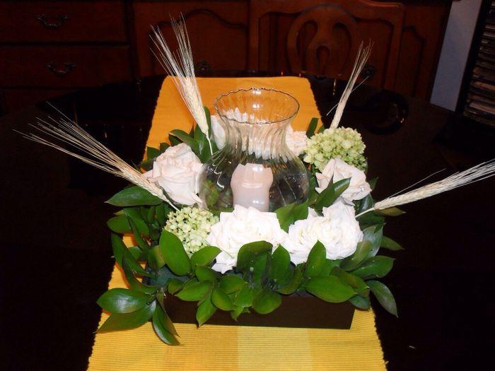Centro de mesa ayuda para elegir foro banquetes bodas - Base de vela ...