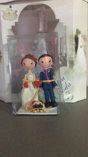 muñecos de pastel