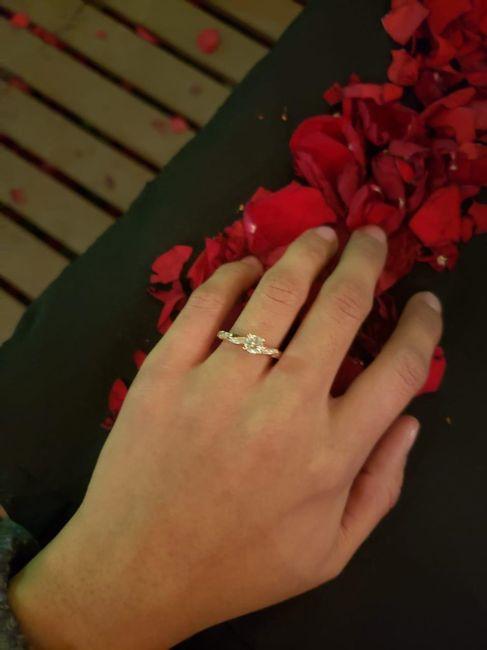 Muéstrame tu anillo de compromiso 😍❤️ 2