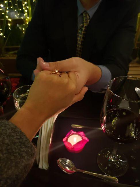 Muéstrame tu anillo de compromiso 😍❤️ 3