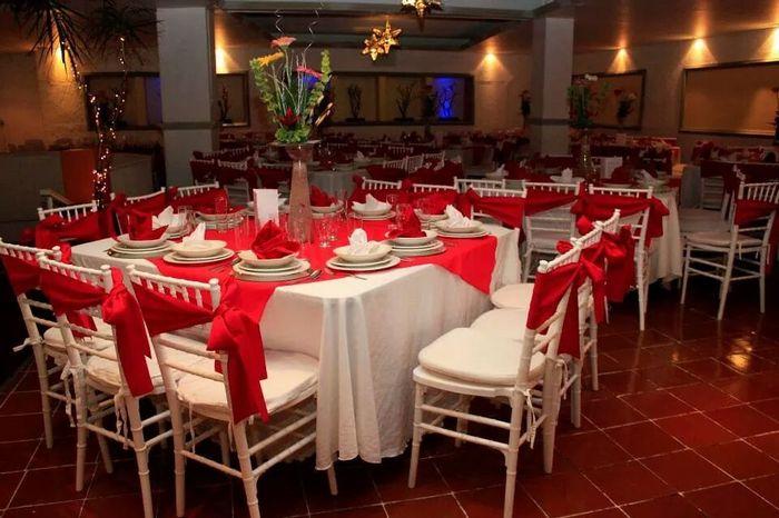 Les muestro el salon de mi boda foro organizar una boda - Mesas para el salon ...