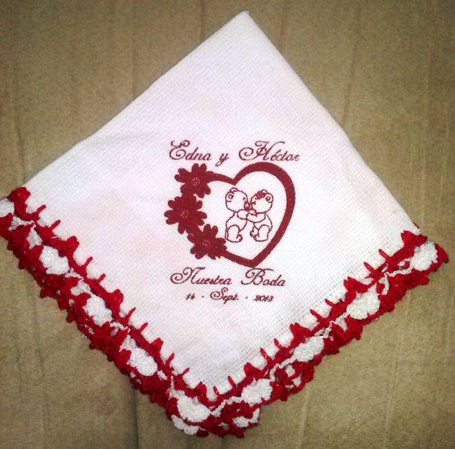 Detalles de mi boda servilleteros saleros servilletas y - Como decorar una servilleta de papel ...