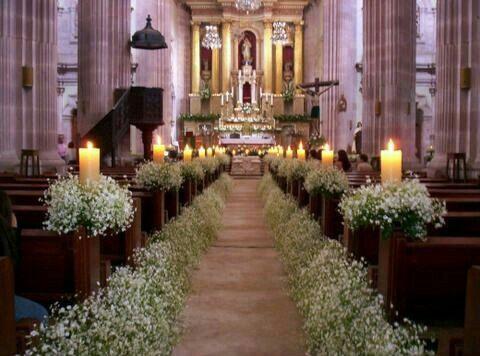 Diy decoraci n iglesia foro manualidades para bodas - Foro decoracion ...