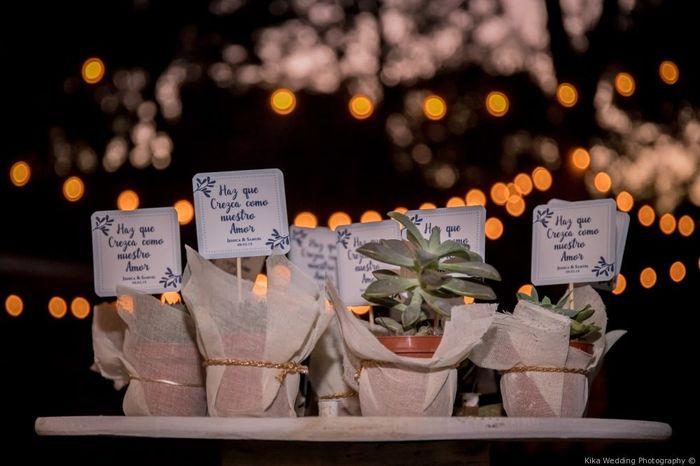 ¿Qué recuerdos te gustarían en tu boda? 3