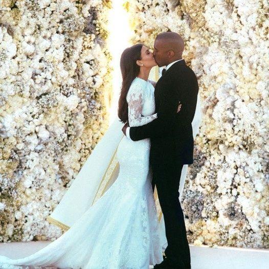 Kim Kardashian y Kanye West 8