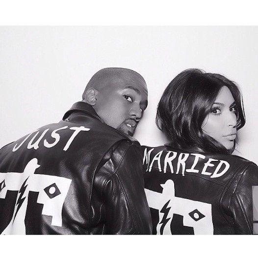 Kim Kardashian y Kanye West 9