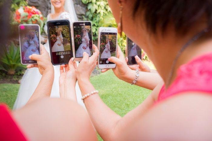 ¿Prohibirías celulares en tu boda? 2