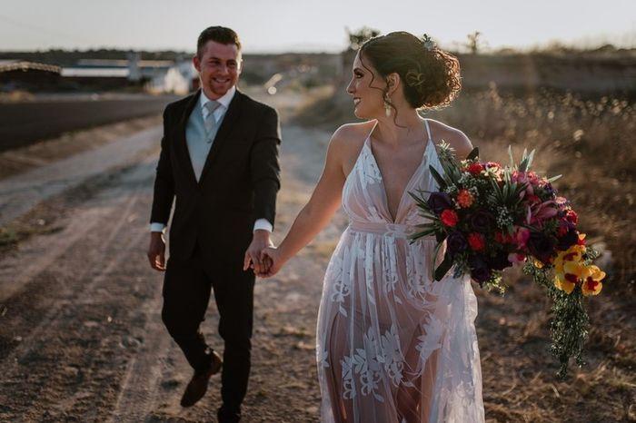 ¿En que régimen se casan los novios Mexicanos? 1