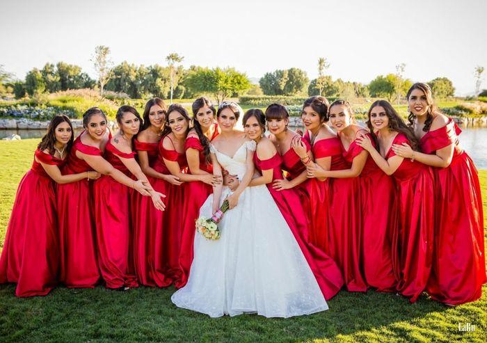 Vestidos de damas de honor 8