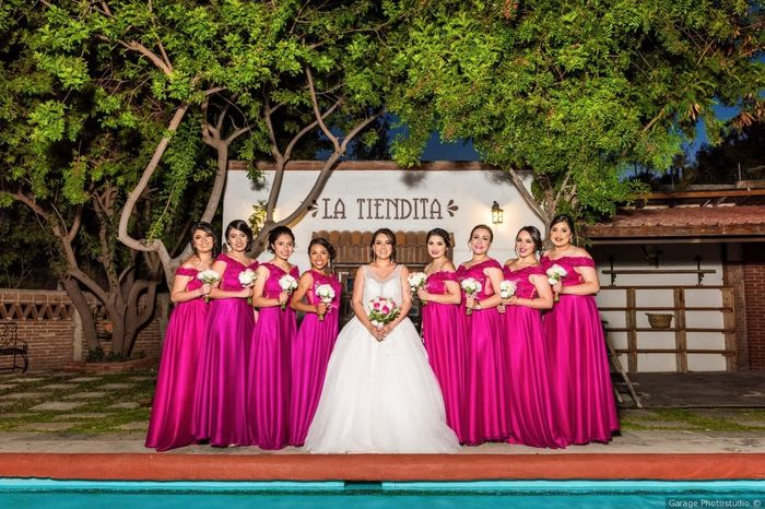 Vestidos de damas de honor 10