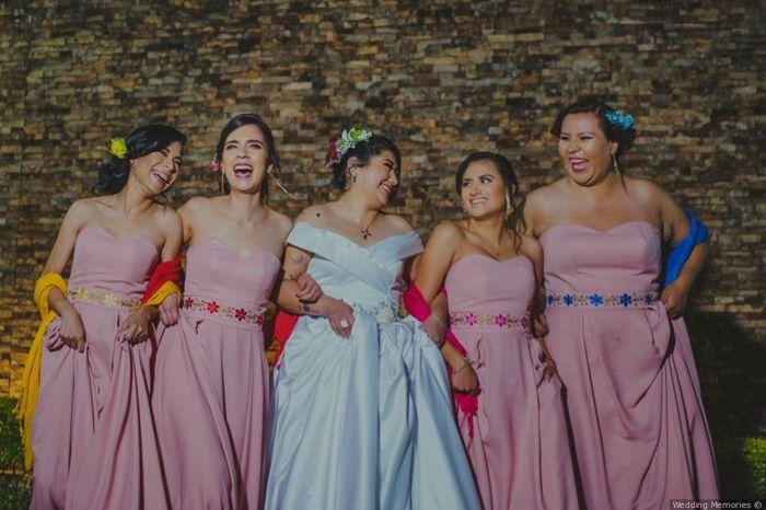 Vestidos de damas de honor 11