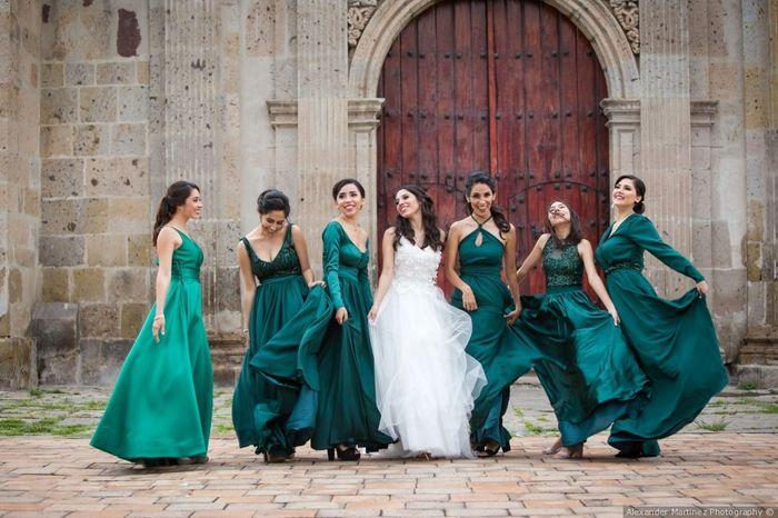 Vestidos de damas de honor 2
