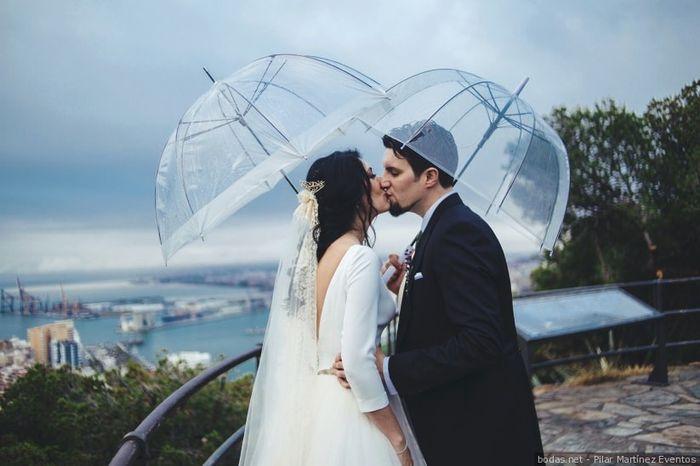 Ventajas de que LLUEVA en tu boda 🤔 1