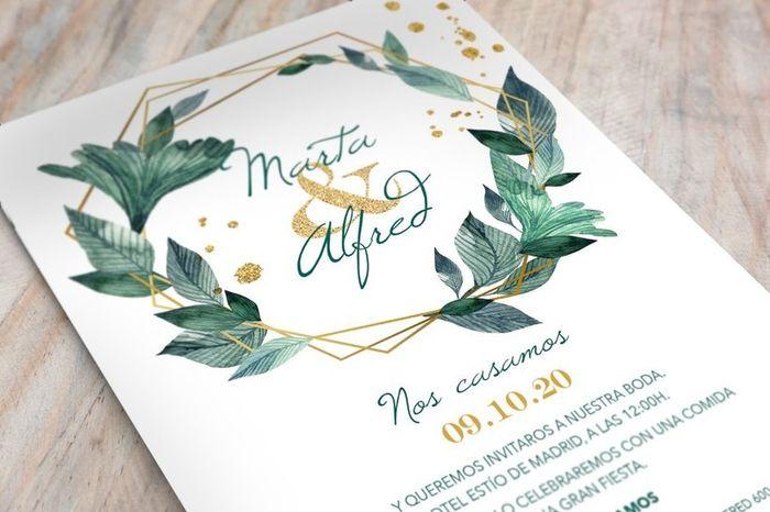 ¡Elige un sobre para esta invitación! 1