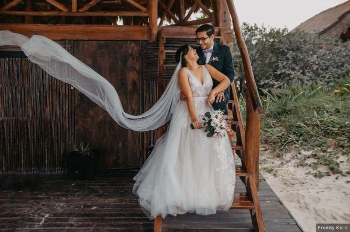 ¿Tener más de un look para la boda? 1