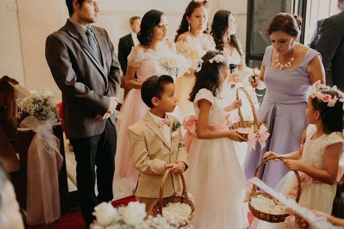¿En algún punto dudaste sobre invitar niños a tu boda? 1