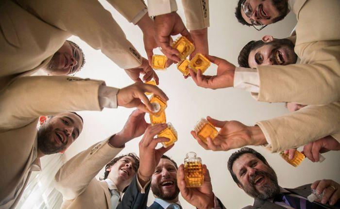 ¿Te enojarías si tu pareja se emborracha en el día de la boda?🎁 1
