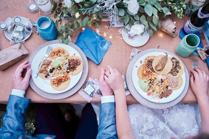 ¿Ya sabes el menú de tu boda? ¿Cómo lo ecogiste? 1