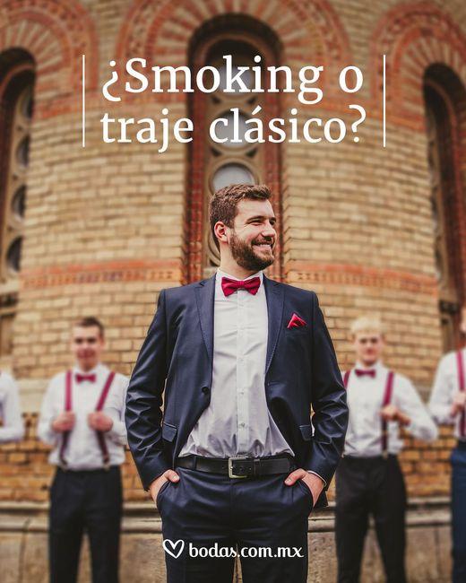 ¿Smoking o traje clásico? 1