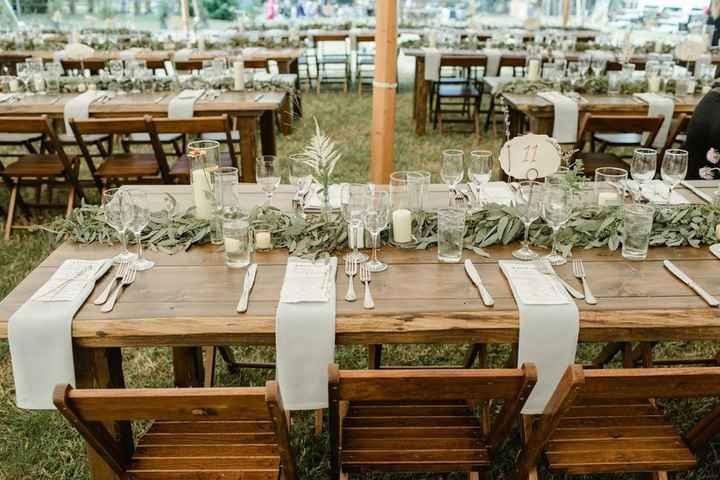 Ideas de centros de mesa para bodas rústicas - 2