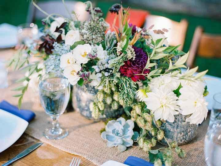 Ideas de centros de mesa para bodas rústicas - 3