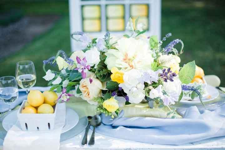 Ideas de centros de mesa para bodas rústicas - 4