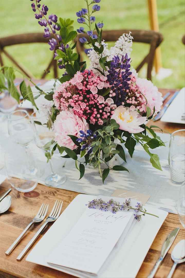 Ideas de centros de mesa para bodas rústicas - 5