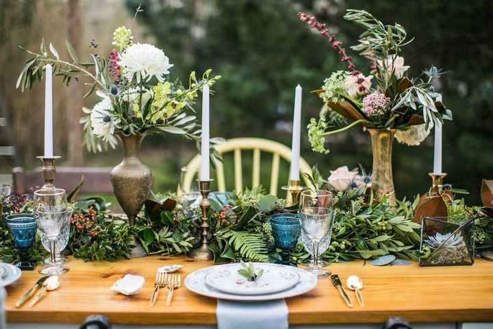 Ideas de centros de mesa para bodas rústicas - 8
