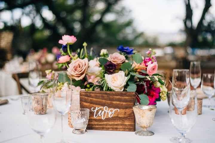Ideas de centros de mesa para bodas rústicas - 9