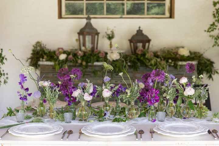 Ideas de centros de mesa para bodas rústicas - 10