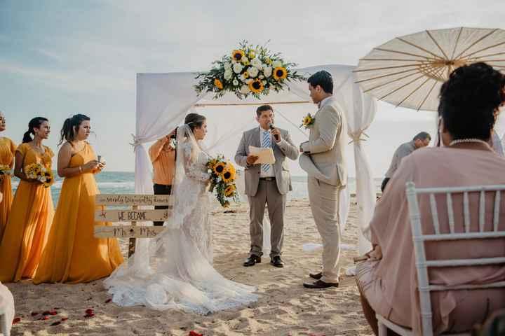 Ideas de cómo usar girasoles en tu boda - 12