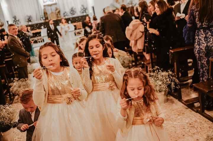 ¿Hay algún niño que tenga un rol especial en tu boda? - 1