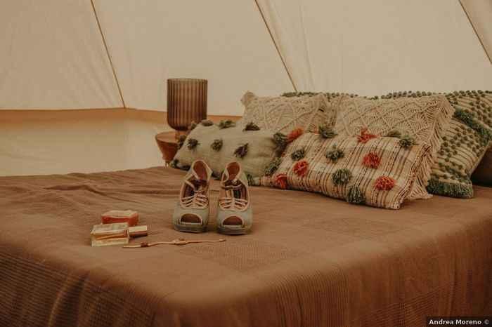 ¿Te gustaría pasar la noche de bodas en una carpa? 🌙 - 2