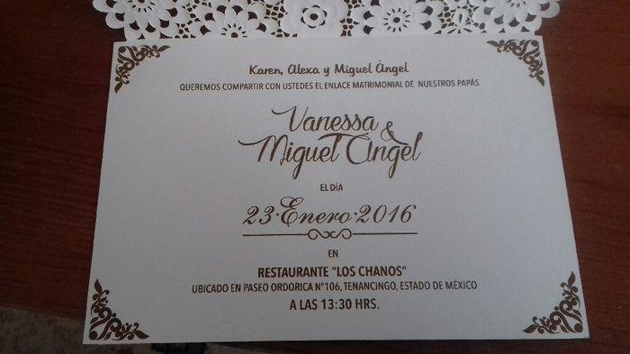 Invitaciones De Boda Y Bautizo Juntos Originales