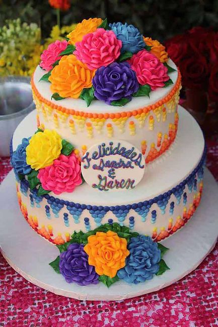 Mexican Cake For Baby Shower