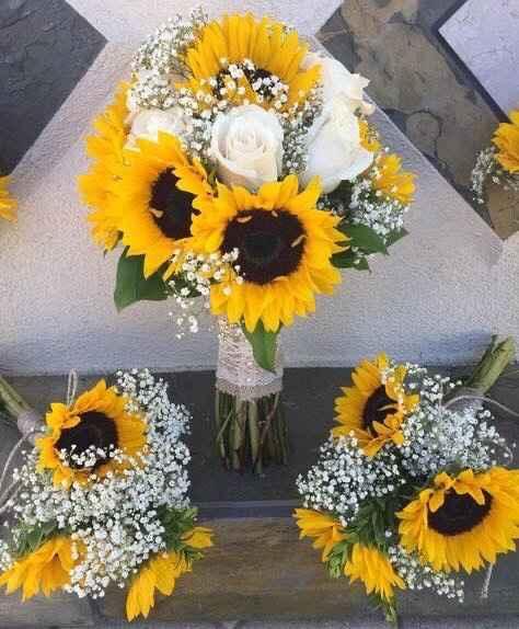 Flores clásicas y elegantes en las bodas - 1