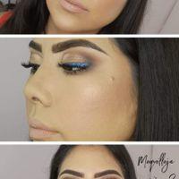 Prueba de maquillaje 2 🤭🤭🤭 - 2
