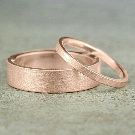82b6c1682550 Anillos y argollas en oro rosa - Foro Moda Nupcial - bodas.com.mx