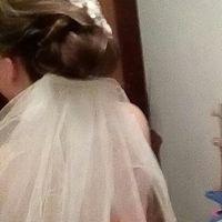 Que opinan de mi peinado, accesorio y velo??? - 1