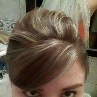 Que opinan de mi peinado, accesorio y velo??? - 2