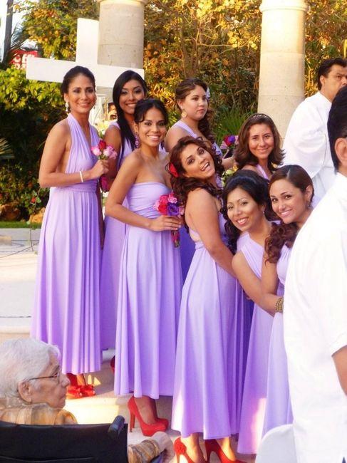 Excepcional Vestidos De Dama Convertibles Galería - Ideas para el ...