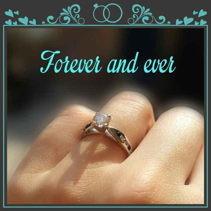 Triste x mi anillo - 1