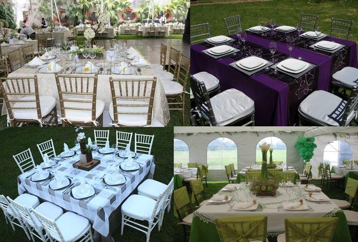 Ideas creativas para saber c mo sentar a tus invitados for Manteles de mesa cuadrada