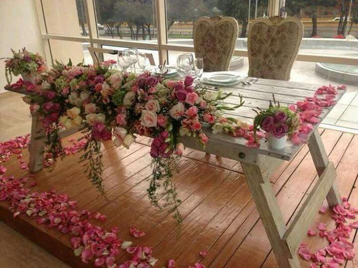 Decoraci n para mesa de novios foro organizar una boda - Foro decoracion ...