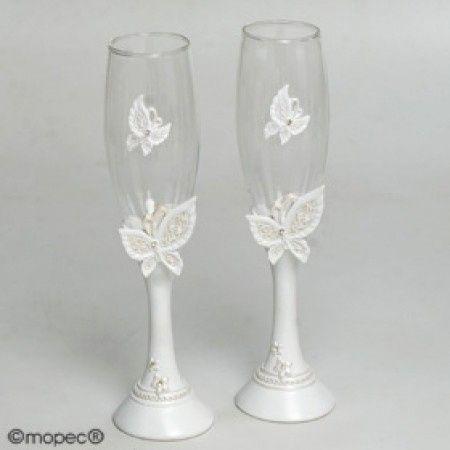 Ideas para boda con tematica de mariposas foro - Como decorar copas para boda ...