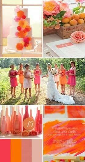 Combina el color naranja en tu boda!!! - 1